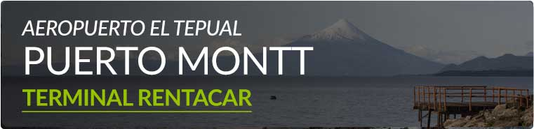 Sucursal Puerto Montt, Aeropuerto El Tepual, Terminal Rent a Car