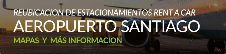 Reubicación de estacionamientos rent a car en el aeropuerto de Santiago